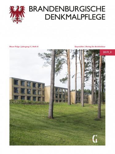 Brandenburgische Denkmalpflege 2019_2